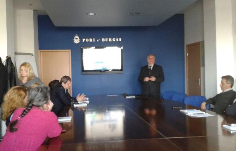 Служителите в Пристанището запознати с информационната система за оценка на компетенциите (ОБНОВЕНА)