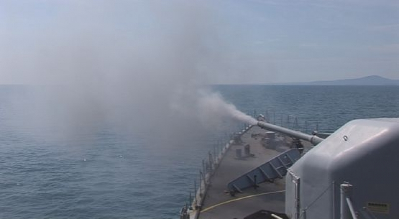 """Завърши учението на Военноморската база – ВМС """"Черно море-2015"""""""