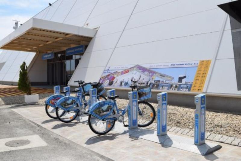 Наемаме велосипеди и от Морска гара - Бургас