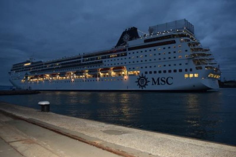 2000 туристи пристигнаха в Бургас с MSC