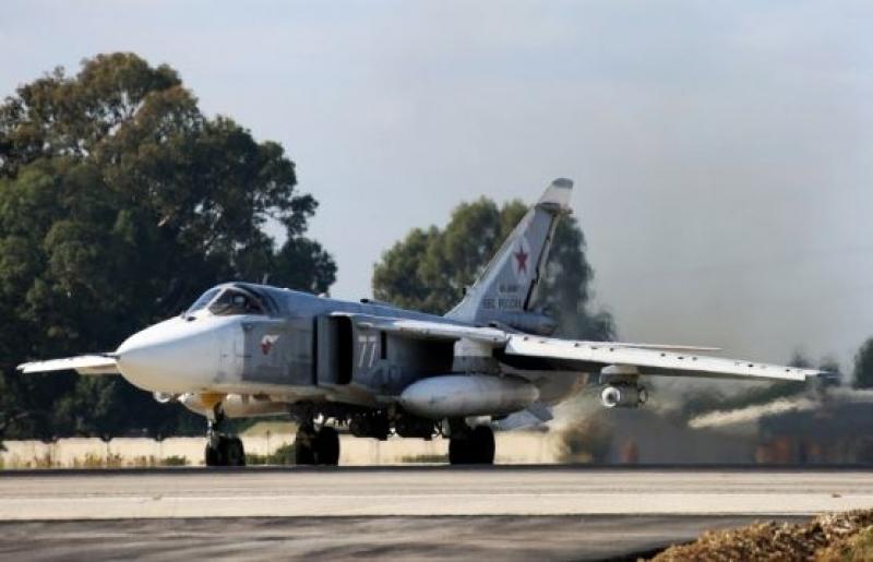 Су-24 российской авиагруппы  был сбит в Сирии