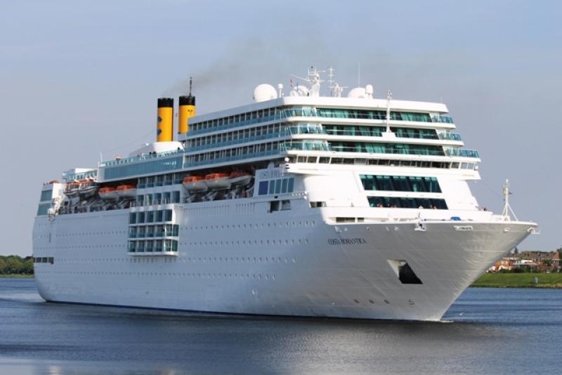 На Гергьовден в Бургас акостира първият за сезона круизен кораб