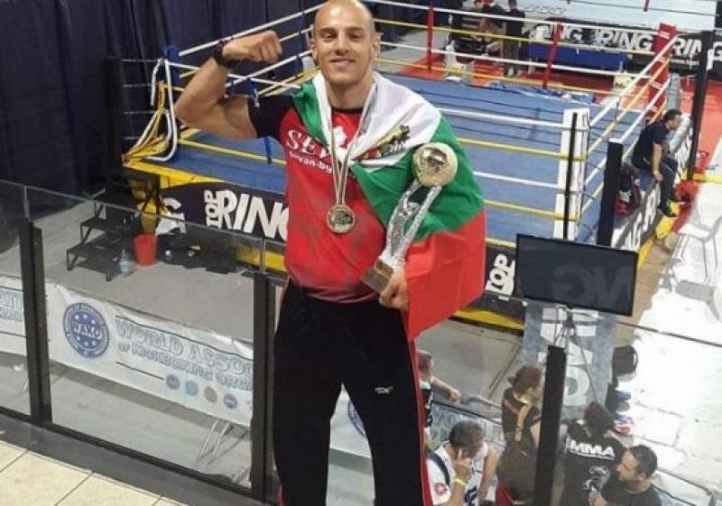 Бургаски кикбоксьор спечели Световната купа в стил  К-1