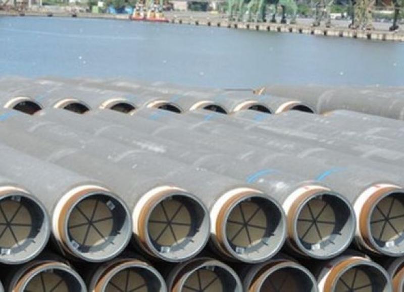Доставиха нови тръби за газопровода през Черно море