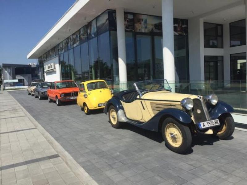 В Бургас отбелязват 100-годишнината на BMW