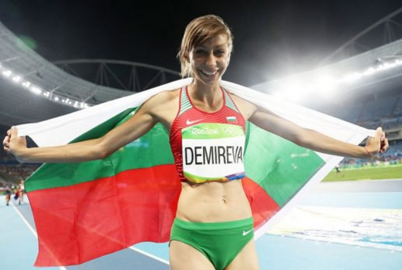 Мирела Демирева спечели сребърен медал в Рио