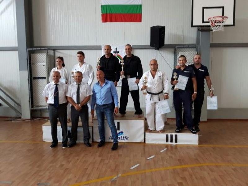 Отборът на ОДМВР-Бургас с бронз от републиканско полицейско първенство