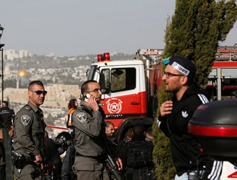 Терорист прегази 15 човека с камион в Йерусалим