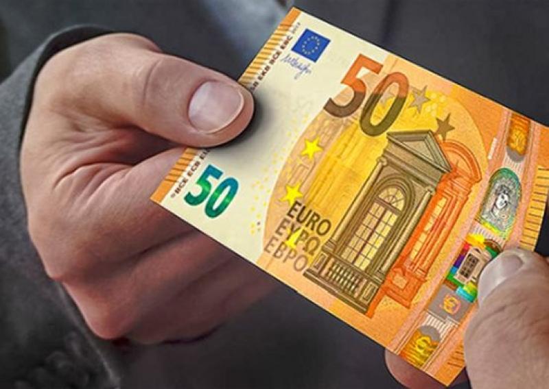 Банкноты номиналом 50 евро с надписью на кириллице с 4 апреля