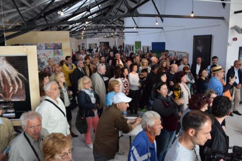 Уникална изложба откриха  Магазия 1 на бургаското пристанище