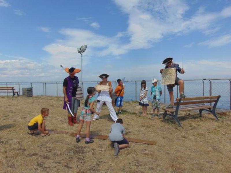 Извънредни пиратски игри на Острова на 8 юни