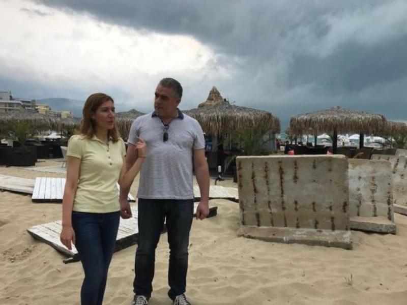 Премахват незаконни обекти на Северния плаж в Слънчев бряг до 5-ти юни