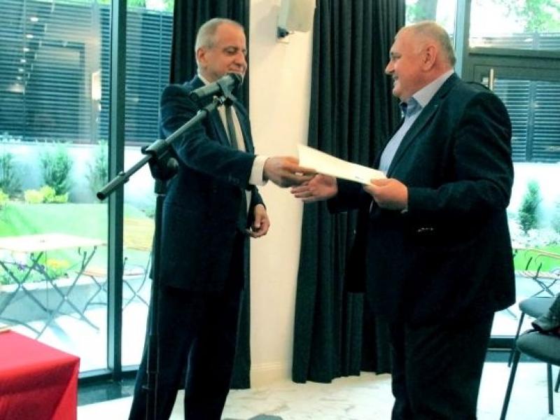 Професор медик с награда от Съюза на българските писатели