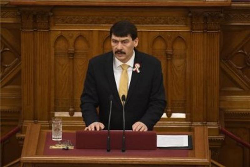 Президентът на Унгария подписа закон за