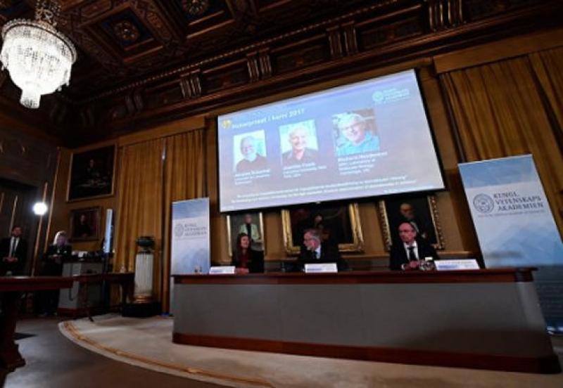 Нобеловата награда за химия присъдена на швейцарец, американец и великобританец