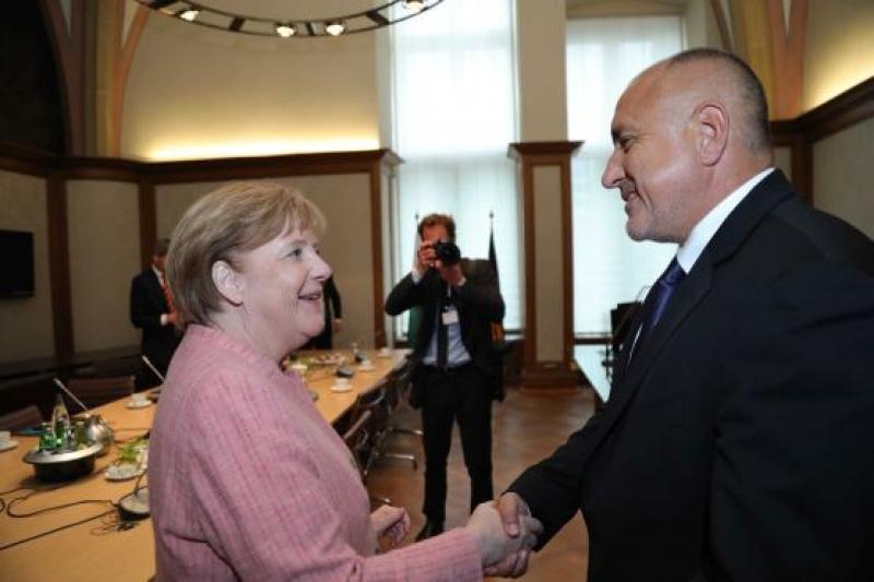 Борисов и Меркел : Хората от Западните Балкани очакват от нас  реални резултати
