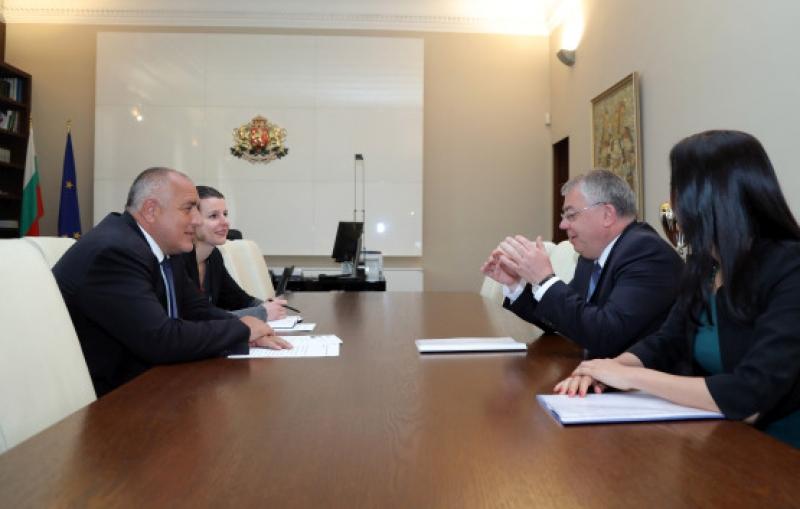 Заради Западните Балкани Борисов се срещна и с председателя на Европейската сметна палата