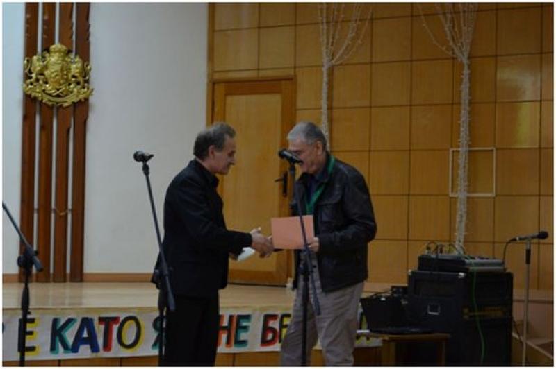 Станислав Марашки с отличие от престижен сатиричен конкурс
