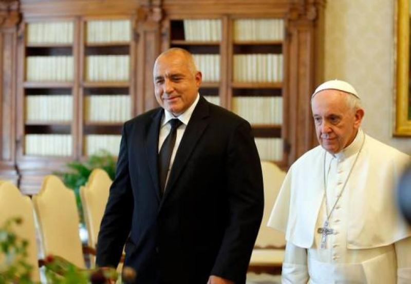 Папа Франциск прие поканата на министър-председателя Бойко Борисов да посети България