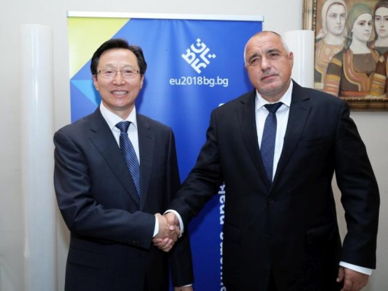 Премиерът Борисов: С Китай имаме огромен потенциал за сътрудничество