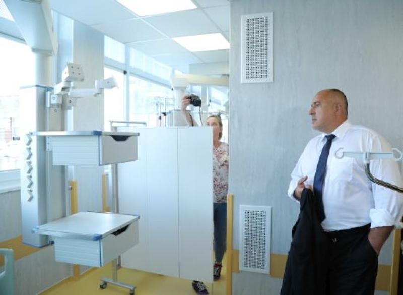 Борисов инспектира болница в Пловдив