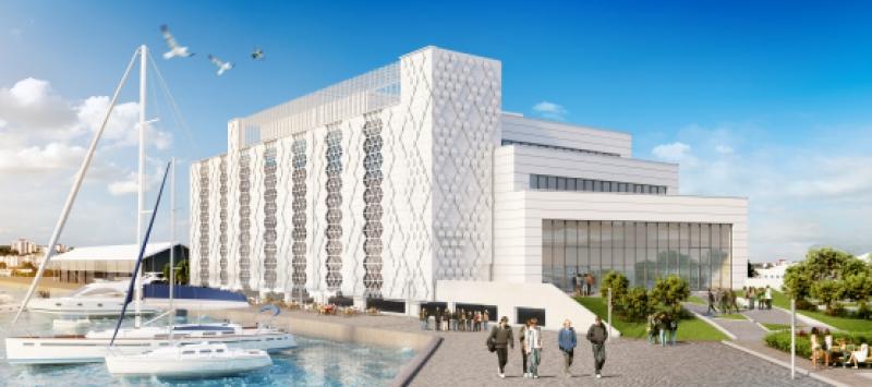 Започва изграждането на Конгресния център в Бургас