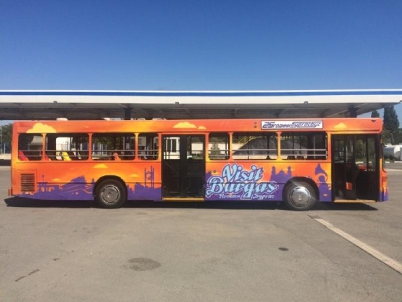 Днес тръгва атракционен автобус от летището до пристанището в Бургас