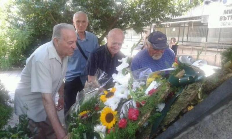 Офицери от запаса  отбелязаха 139-та годишнина от създаването на МВР