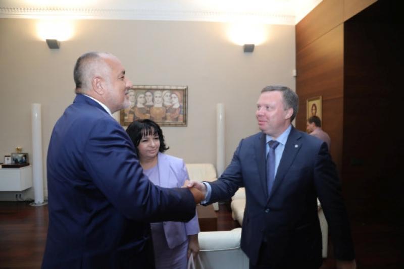 Бойко Борисов и Кирил Комаров обсъдиха съвместното сътрудничество в областта на ядрената енергетика