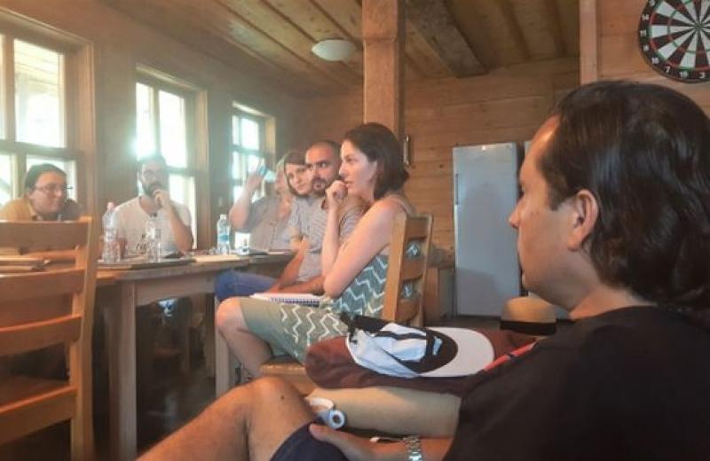 Сценаристи обменят творчески идеи на Острова