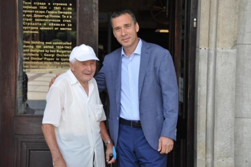 Дядо Никола Мечев навършва 100 години на 1 август