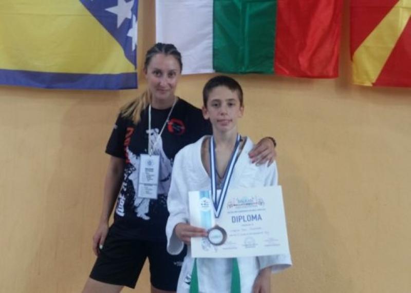 "Талант от бургаския спортен клуб ""Джудо и самбо"