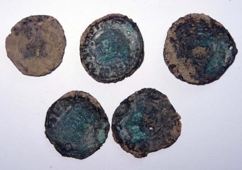 Древни сребърни монети откриха археолози в крепостта Русокастро