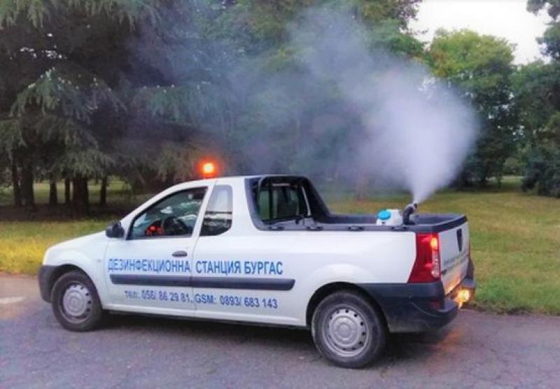 В Бургас отново ще пръскат срещу комари, вижте графиците