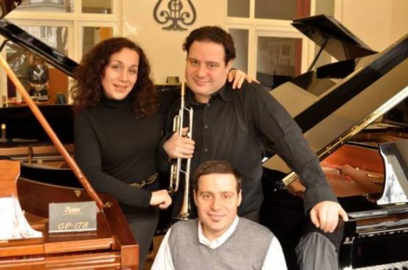 Трио Владигеров с концерт на Флората