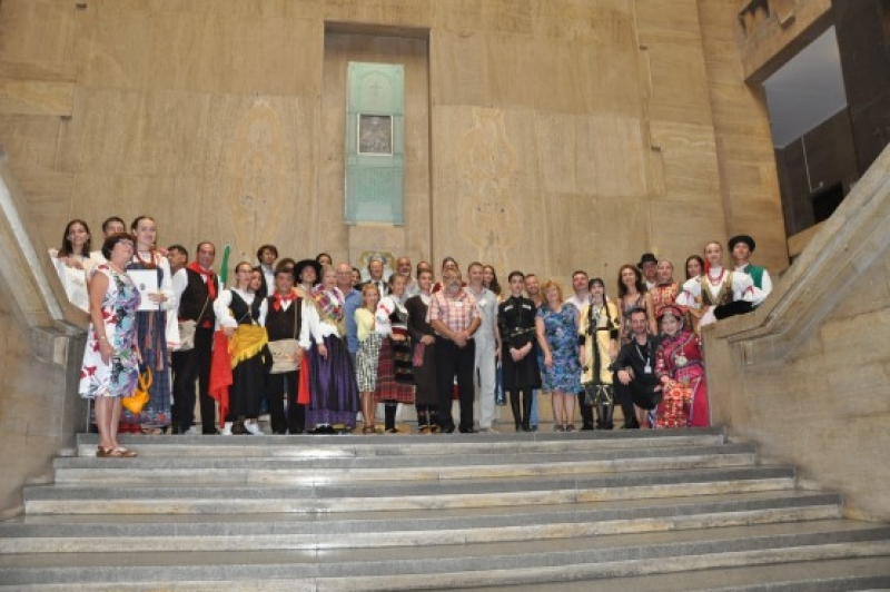 Община Бургас отличи участниците в Международния фолклорен фестивал