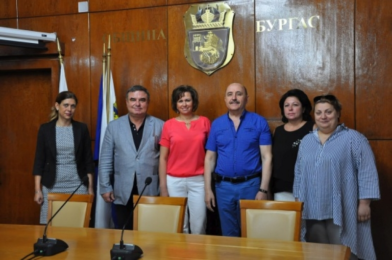 Делегация от Вологда посети Община Бургас
