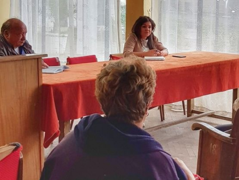 Галя Василева проведе среща с жителите на селата Лозарево и Черница