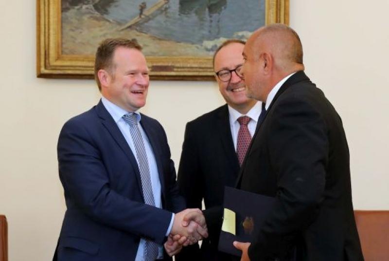 Премиерът Борисов се срещна с докладчиците на ПАСЕ по пост-мониторинговия диалог