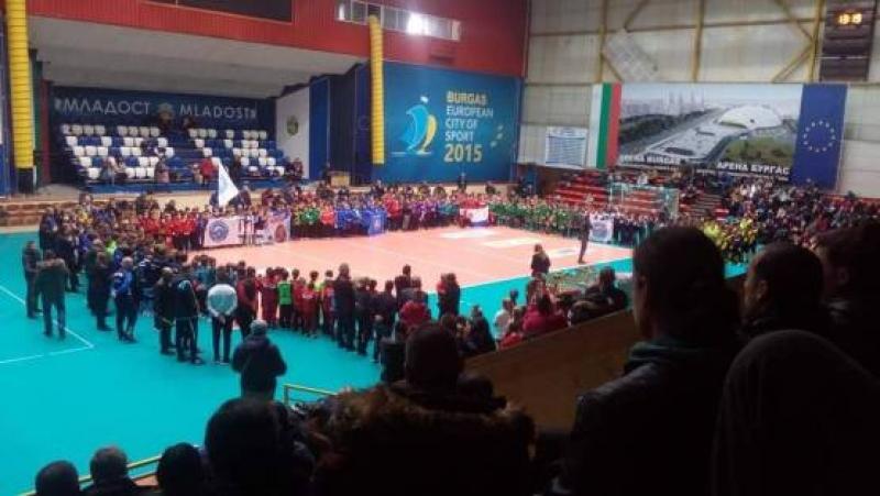 Звезден футболен заряд в Бургас