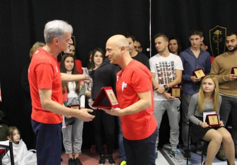 """Георги Миланов получи приза за """"Треньор на годината"""""""