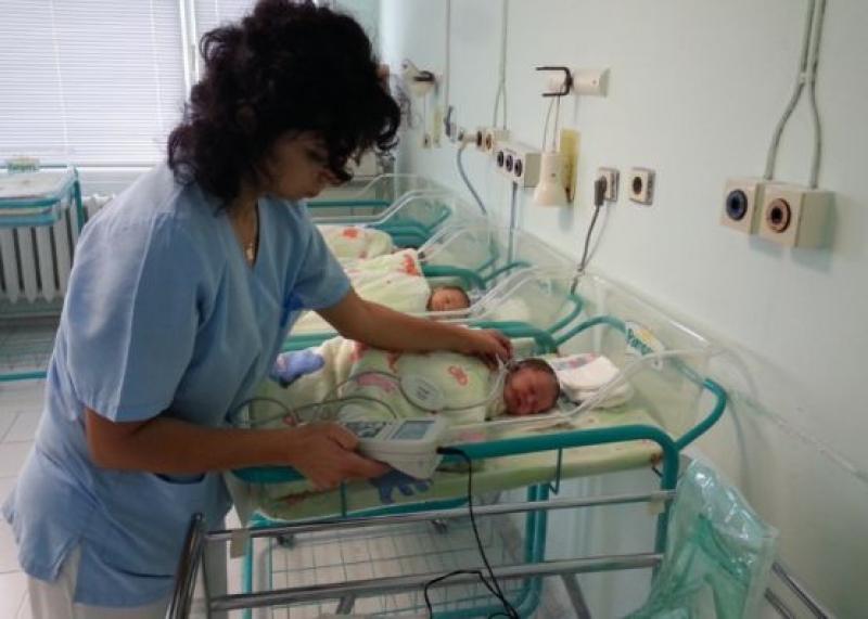 Първото бебе за 2019 г. в УМБАЛ Бургас е момиче