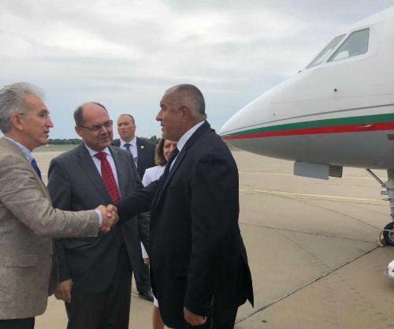 Бойко Борисов е на посещение в Берлин