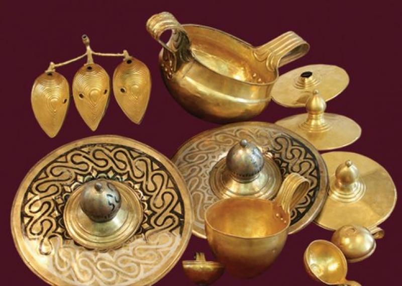 Вълчитрънското съкровище и златото на Кубрат в Археологическия музей в Бургас до 30 септември