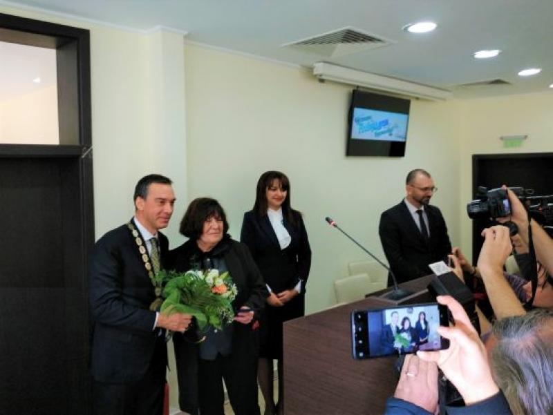 Георги Шагунов стана посмъртно почетен гражданин на Бургас