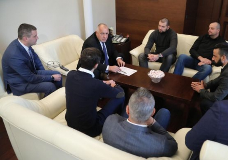 "Започна срещата на Борисов с привърженици на ФК ""Левски""."