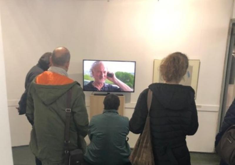 Изложба, посветена на големия Стоян Цанев, препълни градската галерия в Бургас