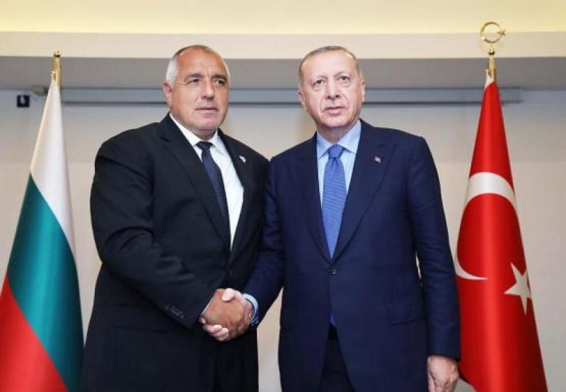 Премиерът Бойко Борисов разговаря с турския президент Реджеп Тайип Ердоган