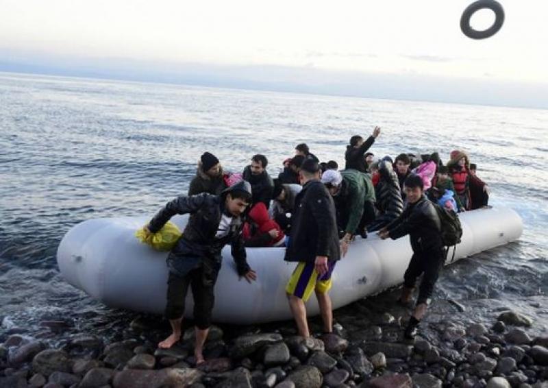 Ердоган забрани преминаването на бежанци през Егейско море