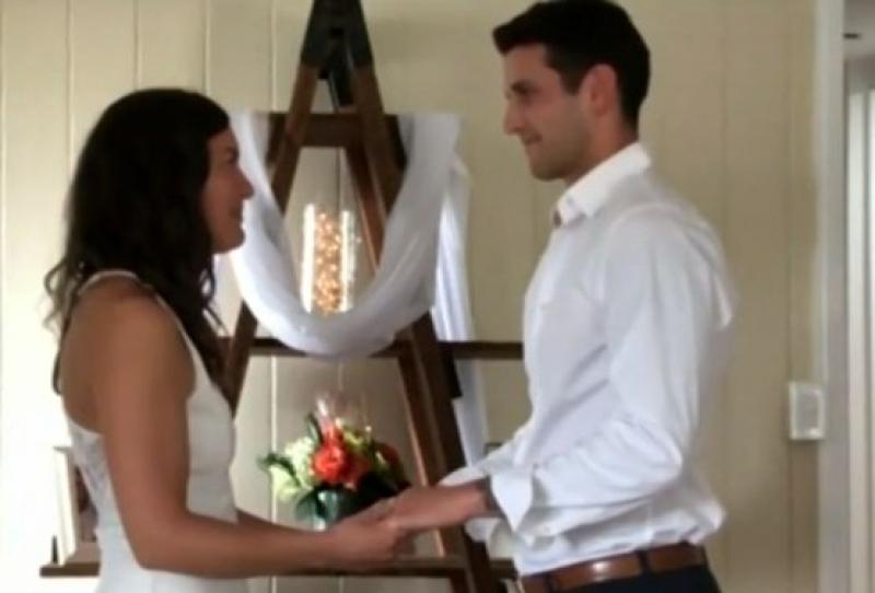 Любов по време на пандемия: Влюбени се ожениха онлайн